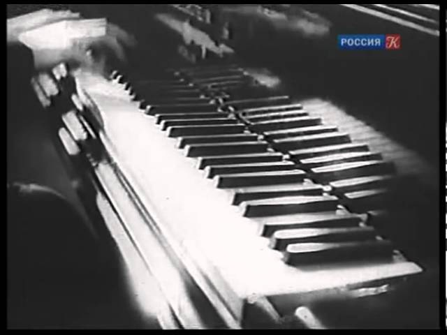 Emil Gilels - Liszt Figaro fantasy - Эмиль Гилельс