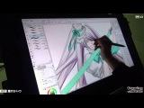 マンガ家 霜月かいり - Drawing with Wacom (DwW)