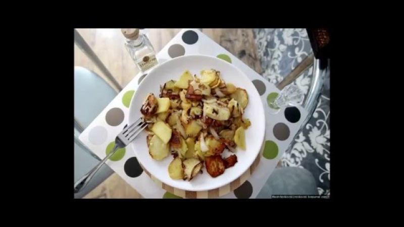 Картофель по московски готовим вместе с Новиковским Максимом