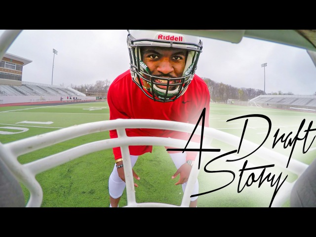 "GoPro Football: Day 2 ""A Draft Story"" Tyvis Powell 