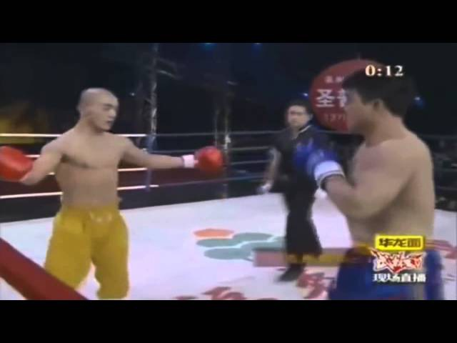 Yi Long китайский монах в боях без правил