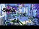 """The Sims 4: Строим Экзотический Дом-Мансьенн - """"Райский Уголок на Побережье"""""""