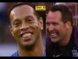Роналдиньо и Симэн пытались повторить гол, забитый в 1/4 финала ЧМ-2002