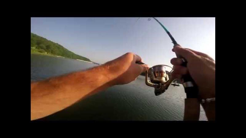 Trout fishing| Pstrągi z jeziora Myczkowskiego na spining