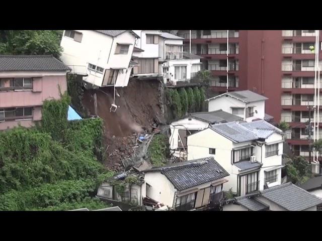 Il terribile crollo di una casa! Guardate che disastro mostruoso!