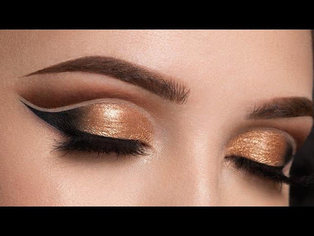 Copper Double Cut Crease Makeup Tutorial