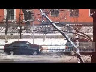Кража зеркал Алматы.