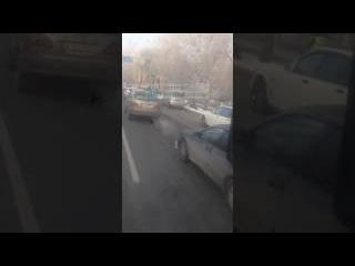 ДТП Алматы 17.01.17