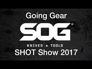 SOG New Multitools & Knives - SHOT Show 2017 - Baton & Sync Series