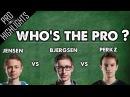 Who's the Pro Bjergsen vs Jensen vs Perkz