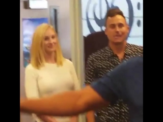 Video of Candice Accola at a music school in Denver on April 27th with her husband Joe King #2