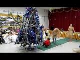 Новогодняя елка в Кантауровской школе ( ученики 2-х классов) -часть -2