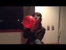 Looners Place Ba - Red Balloon blow and pop sexy. Louisa