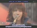 KAT-TUN - Aki [Shounen Club] 12.09.2004 (рус. саб.)
