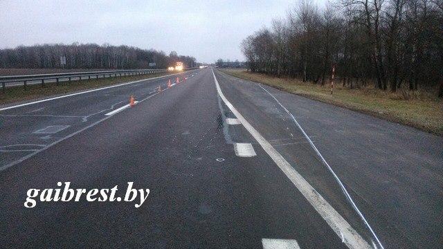 ВКобринском районе шофёр сбил женщину и исчез — УВД