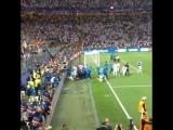 Победный гол Криштиану в серии пенальти глазами болельщиков