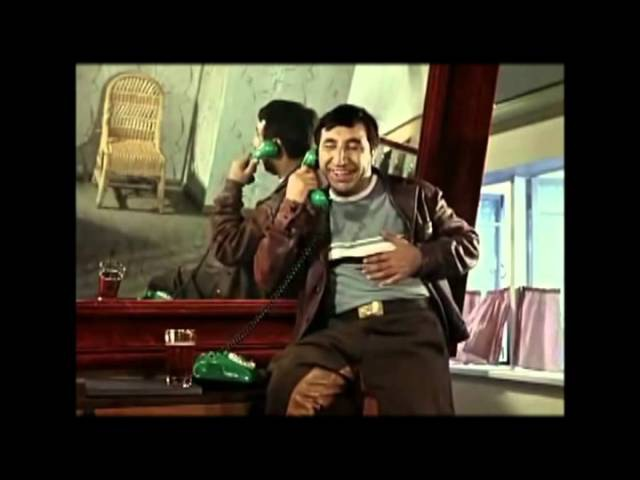Один эпизод вырезанный из фильма Кавказская пленница