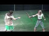 ЧМ по арт-фехтованию 2016, финал. Balestra (Чехия) - Тренировка двух кельтских воинов