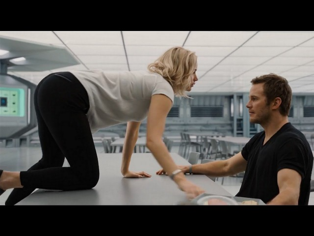 Imagine Dragons Levitate Jennifer Lawrence Chris Pratt Passengers 0016