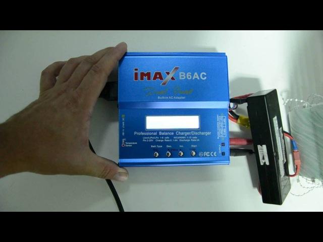 Как зарядить li-po 2s на IMaxB6 и Turnigy Accucell 6 специально для начинающих в rc drifte