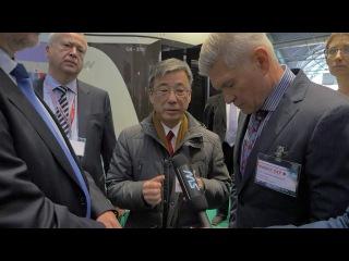 Стенд SkyWay на выставке EnergyExpo 2016 посетил посол Японии в Республике Беларусь господин Хироки Токунага.