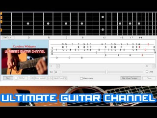[Guitar Solo Tab] Careless Whisper (George Michael)