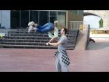 Katrin&ampSylvie feat. Leramaple  - Let's have a party ( Wanda Jackson cover)
