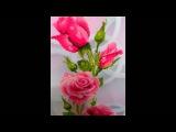 алмазная живопись розовые розы