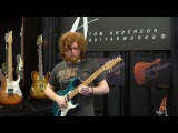 Sean Ashe - NAMM 2016 Performance for Tom Anderson Guitarworks