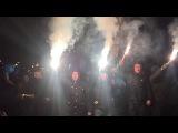 Москалей на ножи - факельный марш националистов в центре Киева
