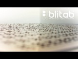 BLITAB Full Page Braille Tactile Display Technology