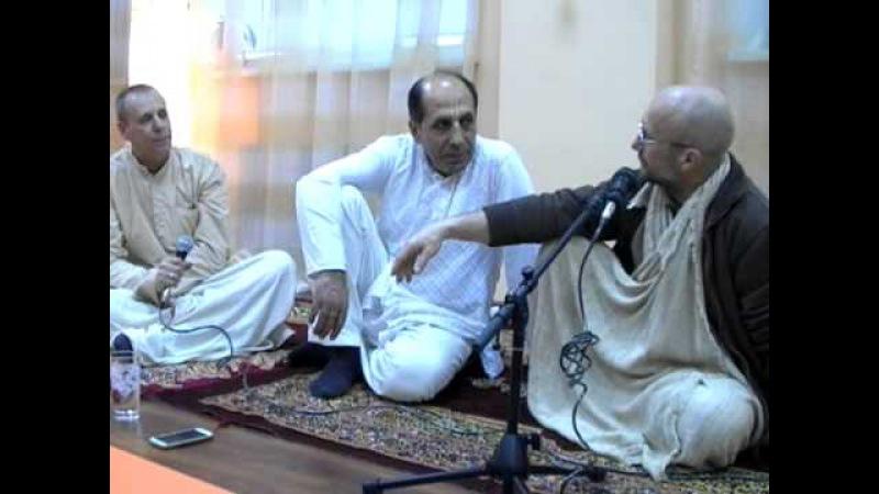 Санака Кумар, Радха Дамодар, Брахмананда Пури Варнашрама дхарма 11 11 04 14