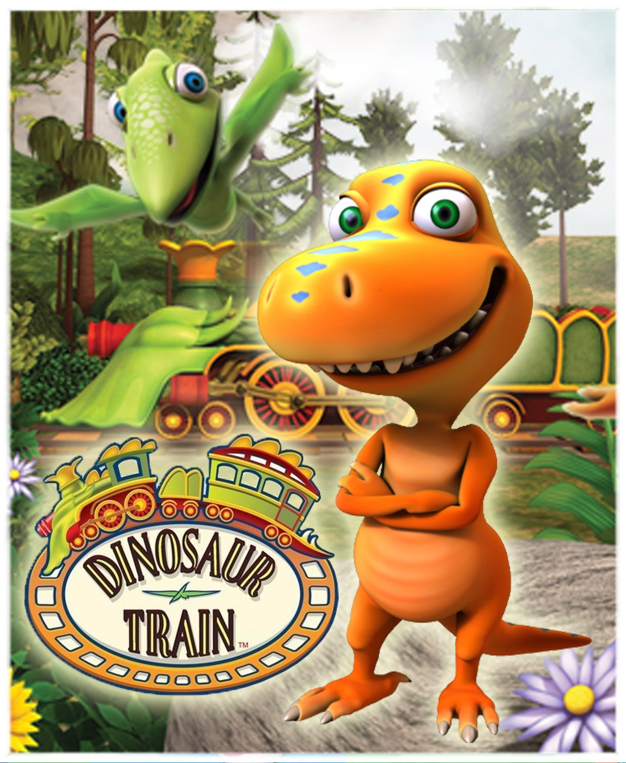 Динозавр на новый год