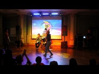 Академия Москва ноябрь 2016 Танцевальный баттл второй круг Соня Лопухова