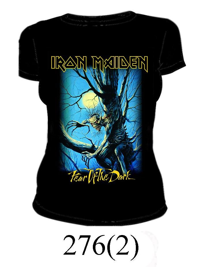 Футболка Iron Maiden (женская) 276-2