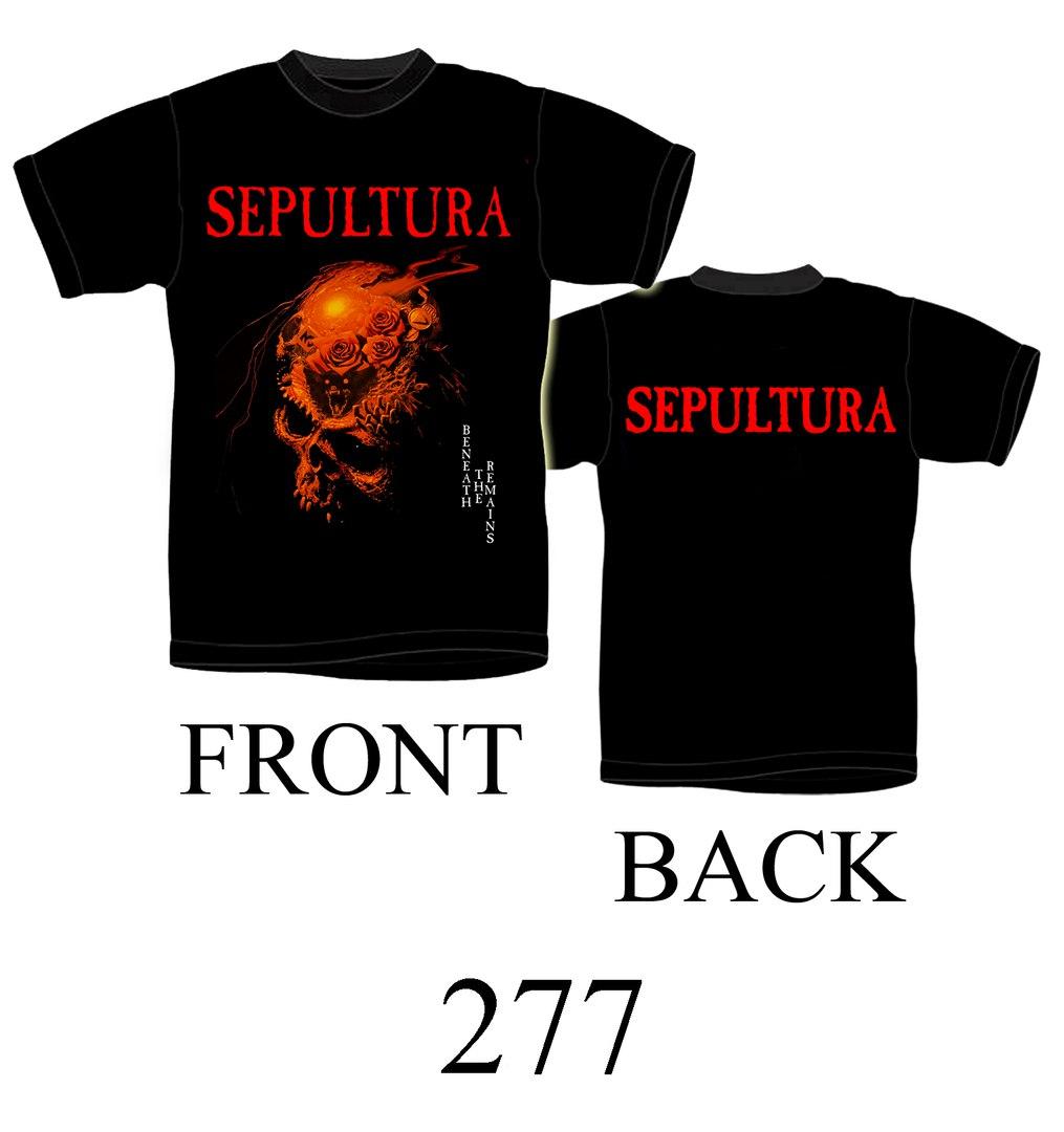 Футболка Sepultura 277
