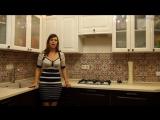 Дизайн интерьера кухни 4. Выбор кухонного фартука и ручек для фасада