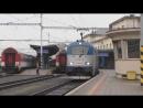 Vlaky odchod 380 008 na EC 280 Jan Jesenius uzasny pozdrav