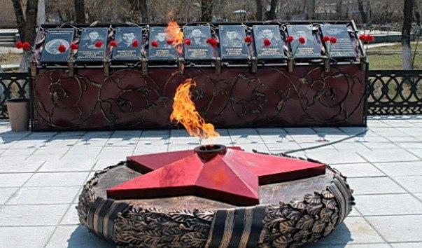 Наконец-то в Агаповке появился ″Вечный огонь″ (29.11.2016)