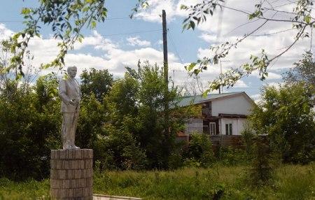 А вот и В. И. Ленин (29.11.2016)