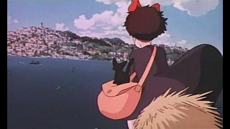 Ведьмина служба доставки Majo no takkyûbin 1989 Тизер