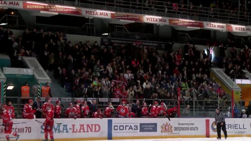 КХЛ.Сезон 2016/17.Автомобилист - Торпедо 1:2Б. Обзор матча