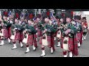 The Black Watch parade the Royal Mile Edinburgh 4K