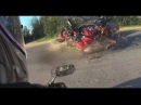АВАРИЯ МОТОЦИКЛИСТА ПОЛОЦК | Accident motorcyclist Belarus