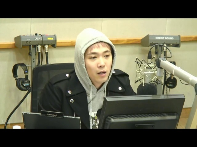 071116 DJ Lee Hongki - Kiss The Radio @ Dawon Rowon (SF9)
