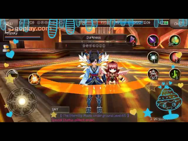 Assassin Nail Deathblow vs Crescent [Iruna Online MMORPG]