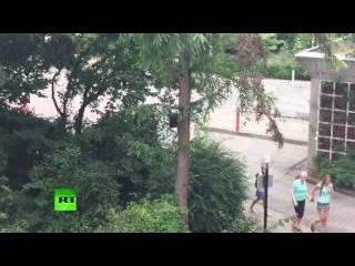 Очевидцы сообщают о стрельбе в одном из торговых центров Мюнхена