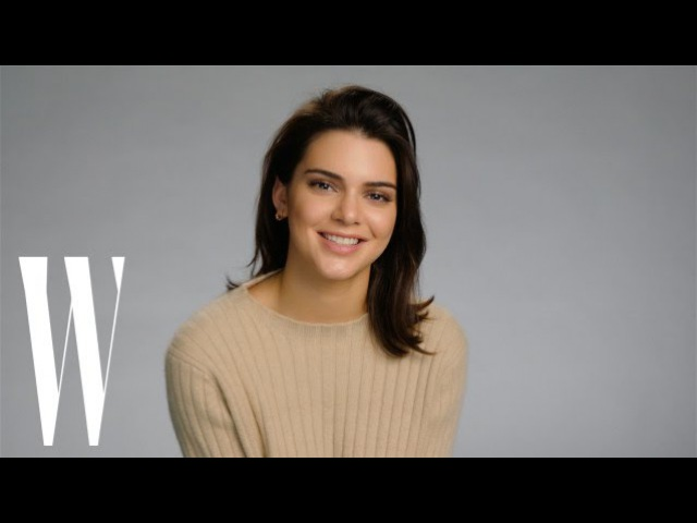 Kendall Jenner Dramatically Reads Nicki Minaj's Super Bass | Lyrical Improv | W Magazine