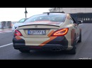 730HP Twin-Turbo Mercedes CLS63 AMG PP-Performance INSANE Sounds!