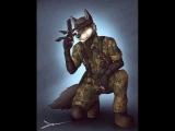 Furry military-подборка артов под рок